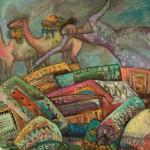 Sehnsucht nach Marokko | 2009 | 92 x 94 cm