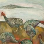 Perlhühner | 2008 | 64 x 93 cm